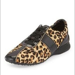 Cole Haan Bria Grand OS Leopard Sneakers